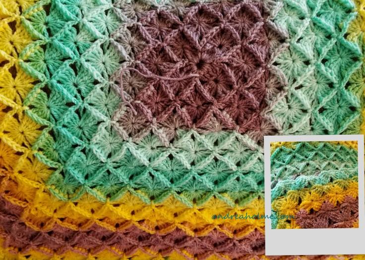 Box Stitch Mandala